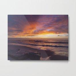 Windandsea Beach Metal Print