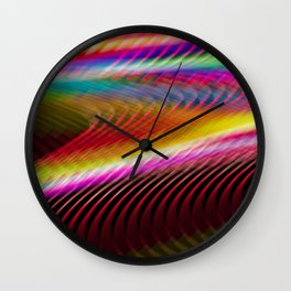 Colour in motion. Wall Clock