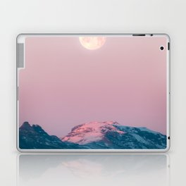 Moon and the Mountains – Landscape Photography Laptop & iPad Skin