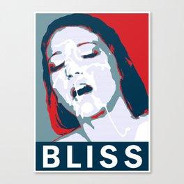 Bliss (Hope Parody) Canvas Print