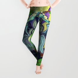 The Paths of Light and the Foundations of the Earth Leggings