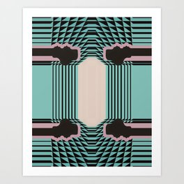 Gatsby by Michelle Weinberg Soft Research Art Print