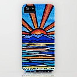 Champlain Sunset iPhone Case