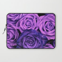 Purple Roses Laptop Sleeve