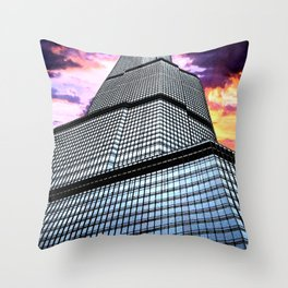 Trump Tower Throw Pillow