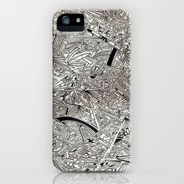 Geometric Explosion JL iPhone Case