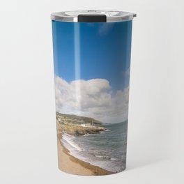 Irish sunny beach Travel Mug