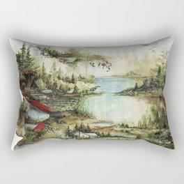 Bon Iver Rectangular Pillow