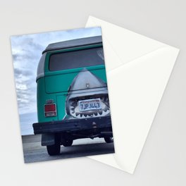shark bus Stationery Cards