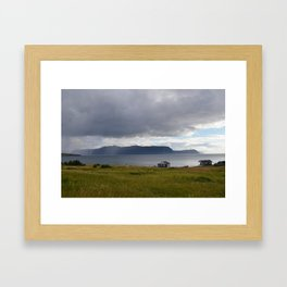 Gros Morne is over there Framed Art Print