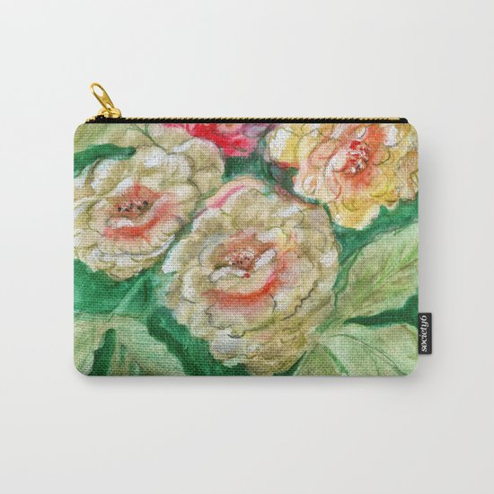 Floral Fusion Carry-All Pouch