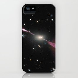 1169. A Multi-Wavelength View of Radio Galaxy Hercules A iPhone Case