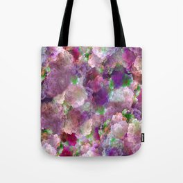 Beautiful ultra violet floral pattern Tote Bag