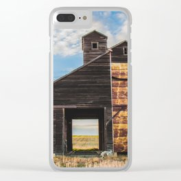 Grain Elevator and Koda Clear iPhone Case