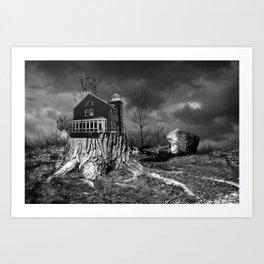 Residence Art Print