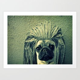 Do You Think I Need a Rasta Hat? Art Print