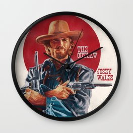 The Outlaw Josey Wales Wall Clock