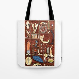 Curious Cabinet Tote Bag