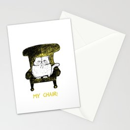 My Chair!  (Yellow) Stationery Cards