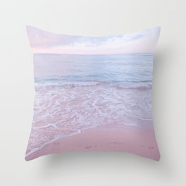 calm day 02 ver.pink Throw Pillow