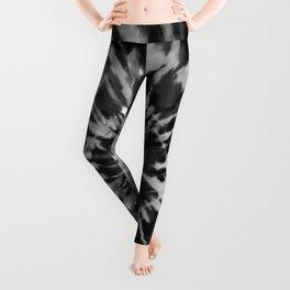 Black Tie Dye Leggings