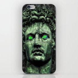 Angry Caesar Augustus Photo Manipulation Portrait iPhone Skin
