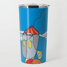 Rocket to the Moon Travel Mug