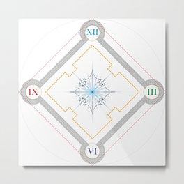 Chronos I Metal Print