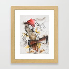 Drummer boy Framed Art Print