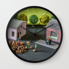 The Little Millers Coffee Corporation Wall Clock