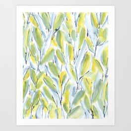 Growth Green Art Print