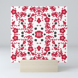 Bloody Blossoms Mini Art Print