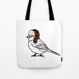 W I N T E R   B I R D  Tote Bag