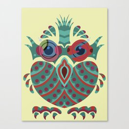 Easter Owl Canvas Print