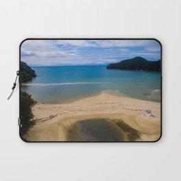 able tasman natural reserve sand low tide Laptop Sleeve