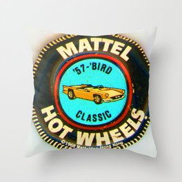 Hot Wheels '57 Bird Classic Throw Pillow