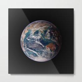 The Blue Marble Eastern Hemisphere - Earth From Space Metal Print