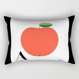 Alphabet Retro A Rectangular Pillow