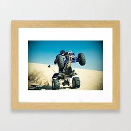 wroom Framed Art Print
