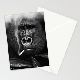 Relaxed Gorilla Stationery Cards