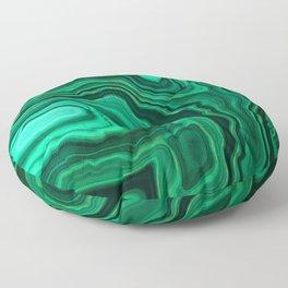 Emerald Marble Floor Pillow