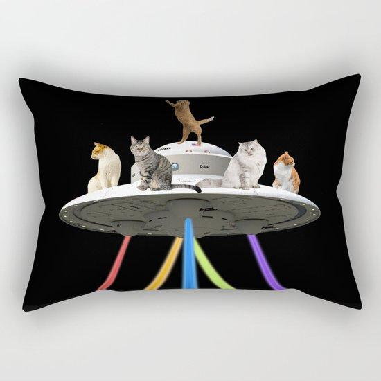 CAT INVADERS Rectangular Pillow