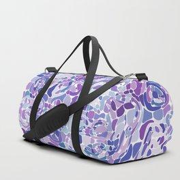 Blue and Purple Blobs Duffle Bag