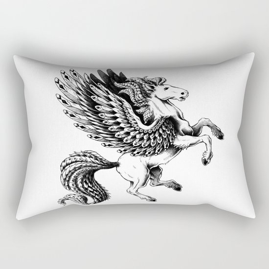 Pegasus Rectangular Pillow