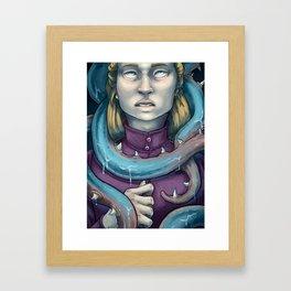 Eyes Blind to the Sea Framed Art Print
