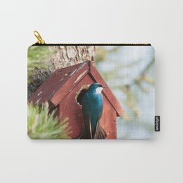 Blue Swallow Photography Print Carry-All Pouch