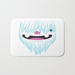 Happy Yeti Bath Mat