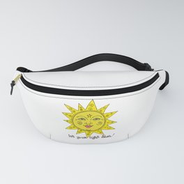 Let Your Light Shine Fanny Pack