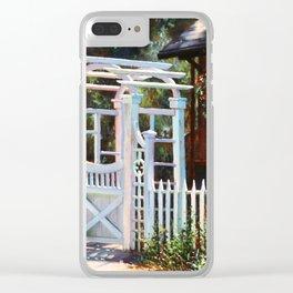 Heaven's Gate Clear iPhone Case