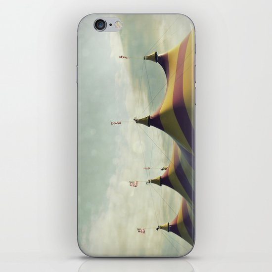Red and Yellow Striped Six Horned Beast Rising iPhone & iPod Skin